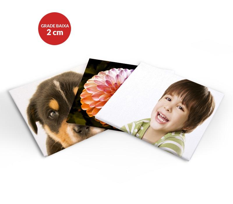 Impressão de Fotografia em Tela - Caixa Baixa
